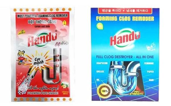 Thuốc thông bồn cầu Hando